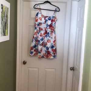 B.Smart sundress size 16 knee length NWT